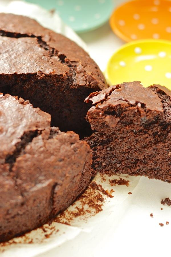 torta al cioccolato senza pesare gli ingredienti