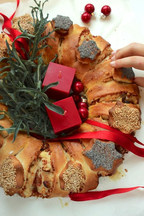 Antipasti Di Natale Prova Del Cuoco.Alla Prova Del Cuoco Corona Di Natale