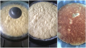 base torta cotta in padella
