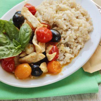 Straccetti di pollo alla mediterranea, facile e comodo con #EasyCOOP!