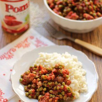 Una ricetta per Pomi: riso pilaw con salsa saporita