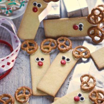 Biscotti di natale: Rudolph la renna!