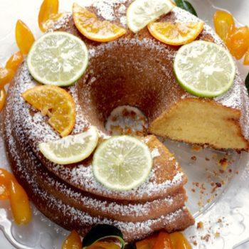 A la Prova del Cuoco: Ciambellone agli agrumi con kumquats caramellati
