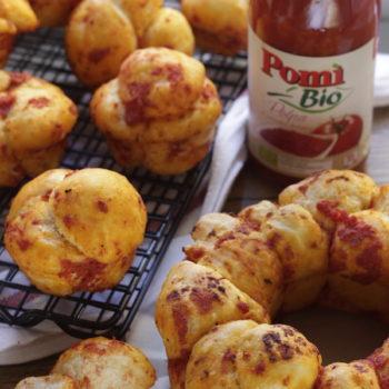 Una ricetta per Pomi: pane pizza farcito