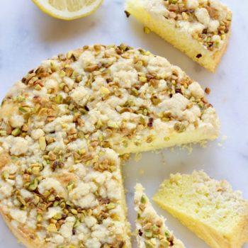 A La Prova del Cuoco: Torta al limone con crosta di pistacchi