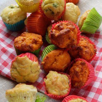 I miei muffin salati, una ricette tante varianti