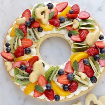 A La Prova del Cuoco: Corona di crostata con frutta fresca