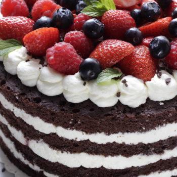 A La Prova del Cuoco: Torta in padella foresta nera con frutti di bosco