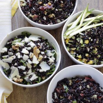 Le mie fantastiche 4 insalate di riso venere