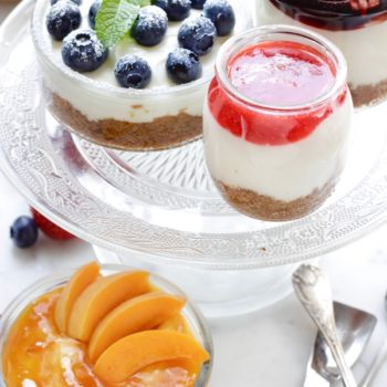 Cheesecake nel vasetto senza cottura