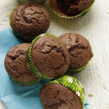 Muffin al cacao, facili veloci e buoni