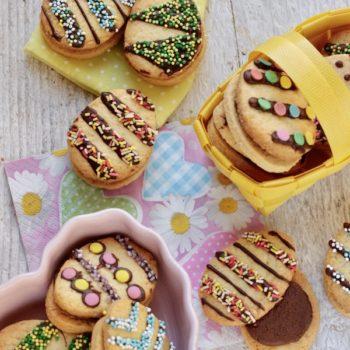 Biscotti di Pasqua farciti