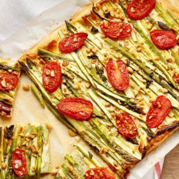 Sfoglia salata agli asparagi