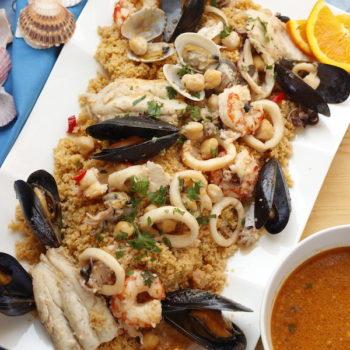 Zuppa di pesce e frutti di mare