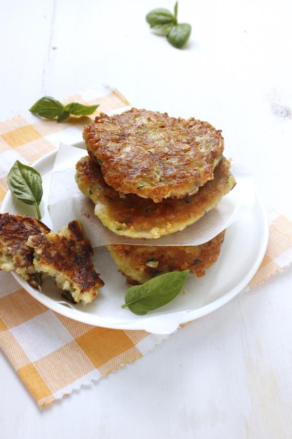frittelle con ceci e zucchine