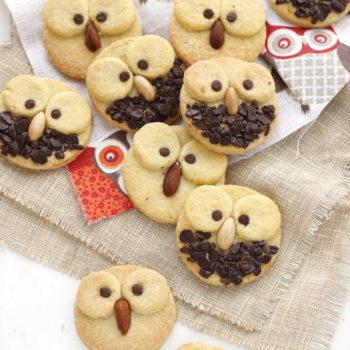 Halloween: Biscotti gufetti