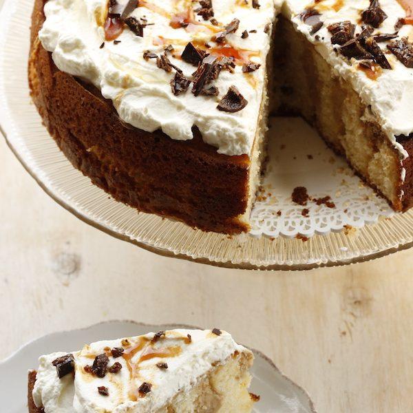 Poke cake al caffè