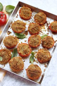 Pomodori gratinati alla romagnola