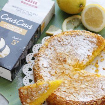 Torta al limone con Bia Cous Cous