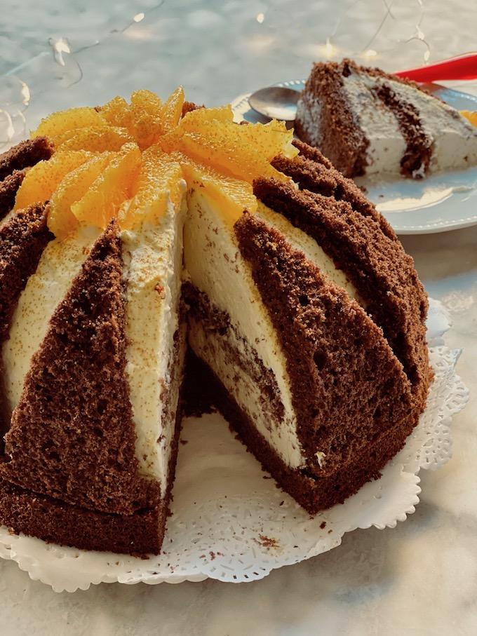 torta semifreddo vulcano