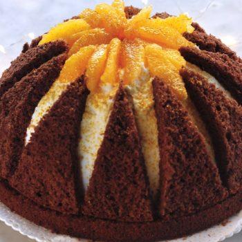Torta semifreddo vulcano è sempre mezzogiorno