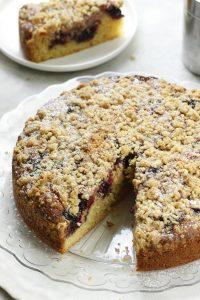 Crumb cake ai frutti rossi