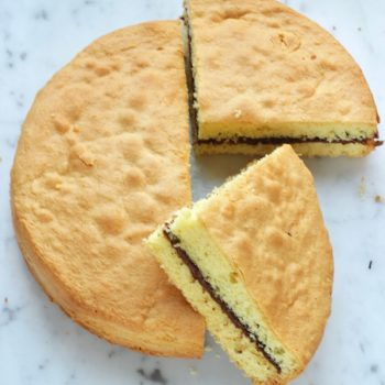 Torta leggera farcita o torta versata