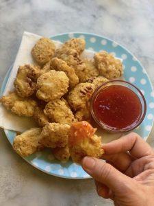 Nuggets di pollo speziati