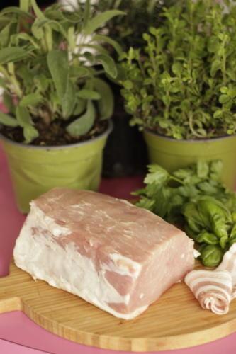 Scegliete la parte grassa del pezzo di carne