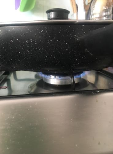 cuocete con il coperchio