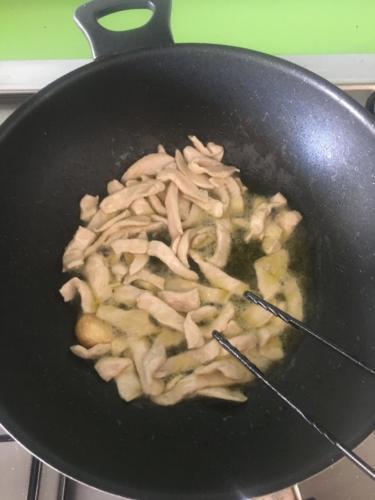 cuocete velocemente il pollo
