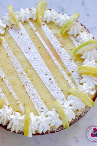 Torta in padella allo yogurt e limone