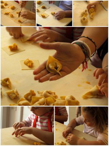 procedimento tortelli alla zucca