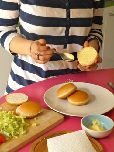 spalmate un po' di maionese nel panino
