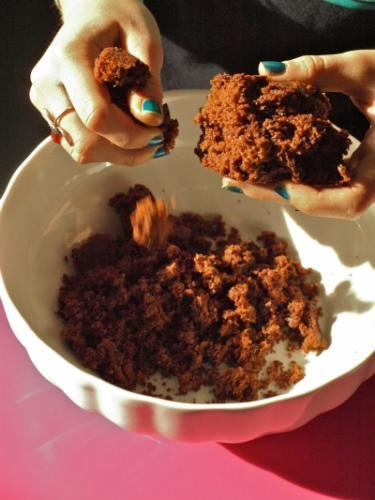 sbriciolate la torta
