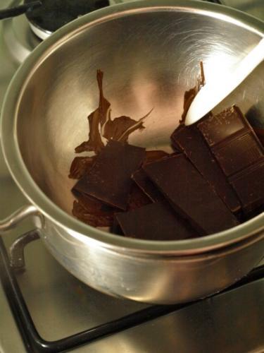 sciogliete il cioccolato