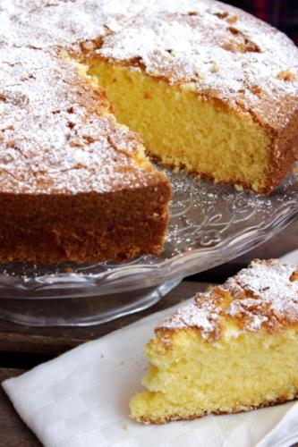 torta morbida e profumata